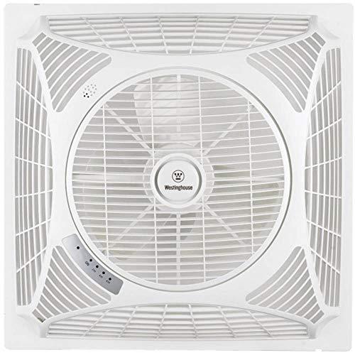 Westinghouse ventilador de techo Windsquare (L x B x H) 60 x 60 x 21 cm Flügelfarbe: blanco cajafar
