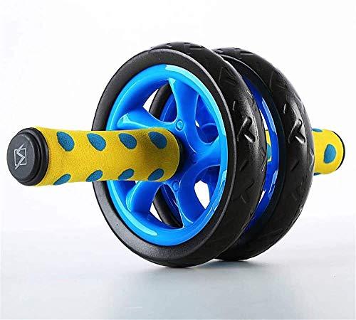 Sport Multifunktionale Fitness Equipmen Bauch-Übung Rad Bauchgerät dw Roller Abdominal Fitness Rad Muscle 30X15cm XMJ (Color : Blue)