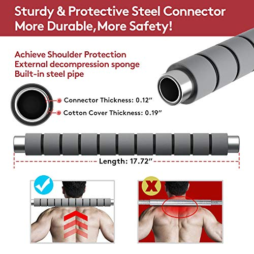 Product Image 6: RUNWE Adjustable Dumbbells Barbell Set of 2, 33 lbs Free Weight Set with Steel Connector Home Office Gym Fitness Workout Exercises for Men/Women/Beginner/Pro