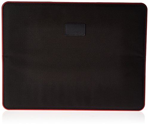 "Tumi 15"" Slim Solutions Laptop Cover, Black/Red, One Size"