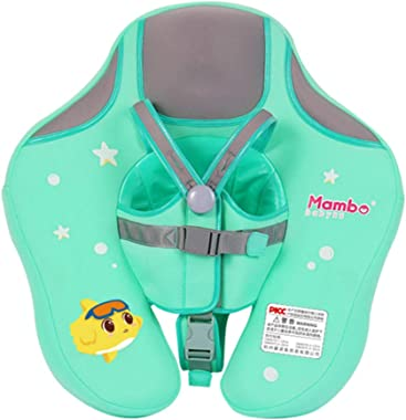 Ewer Baby Solid Swimming Float Non Inflatable, Baby Swimming Float Ring with Safety Belt, Children Waist Float Ring for 0 - 2