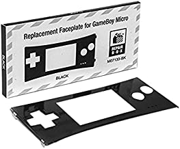 Game Boy Micro Replacement Faceplate (Black)