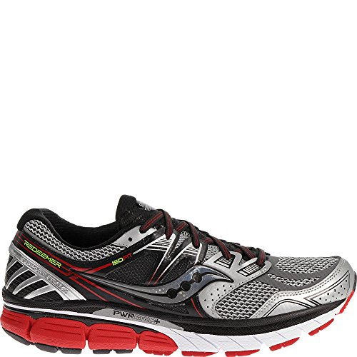 Saucony Men's Redeemer ISO Running Shoe, Black/Blue,11 M US