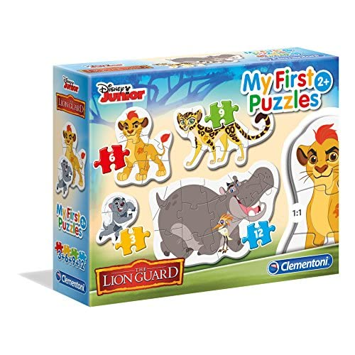 Clementoni 20801 - 3, 6, 9, 12 My First Puzzles Lion Guard