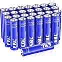 28-Pack EBL 1.5V AAA Alkaline Batteries