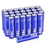 EBL AAA Alkaline Batteries - Triple A 1.5V Single Use Battery (28 Count)