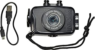 Intova Duo Waterproof HD POV Sports Video Camera by Intova