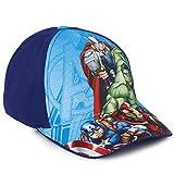 Marvel Avengers Baseball Cap Kinder, Basecap Kinder Jungen mit Spider Man, Thor, Captain America,...