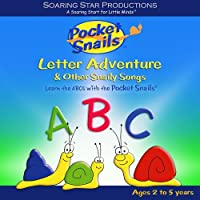 Pocket Snails Letter Adventure/Age 2 to 5 years