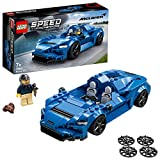 LEGO 76902 Speed Champions McLaren Elva, Coche Deportivo de Juguete para Construir con Mini Figura de Piloto de Carreras