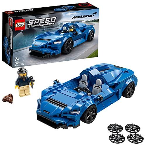 LEGO 76902 Speed Champions McLaren Elva, Coche Deportivo de Juguete para...