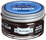 [エム・モゥブレィ] シューケア 靴磨き 栄養 保革 補色 ツヤ出しクリーム シュークリームジャー ダークブラウン 50ml