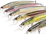 wLure Fishing Lure Lifelike Minnow Crankbait for Bass Fishing Bass Lure HM616KB
