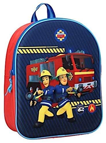 Brandweerman Sam VB27958 Feuerwehrmann Sam Rucksack, Mehrfarbig, Einheitsgröße