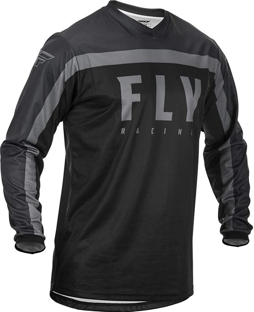 Fly Racing 2021 F-16 Jersey Medium Grey//Orange