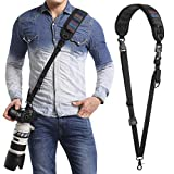 waka Camera Neck Strap with Quick Release and Safety Tether, Adjustable Camera Shoulder Sling Strap for Nikon Canon Sony Olympus DSLR Camera - Retro