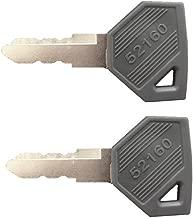 QTMY 2 Pack Yanmar 194155-52160 Ignition Key EX450, EX2900, EX3200, SC2400, SC2450