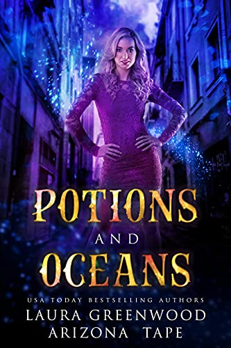 Potions and Oceans Amethyst's Wand Shop Mysteries Arizona Tape Laura Greenwood