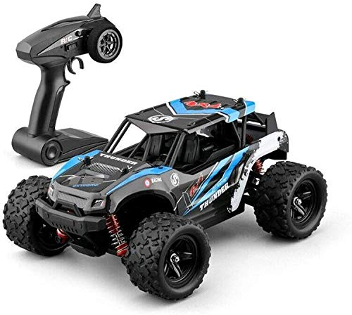 BHJH7 Carro de Control Remoto Monster Truck Todoterreno RC de Alta Velocidad Camión teledirigido de 2.4G 4WD RC Coche RC Juguetes Juguete para niños Modelo de Juguete Coche RC Buggy Desert Crawler