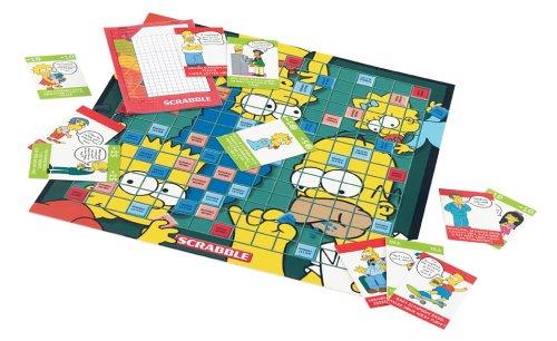 The Simpsons Scrabble