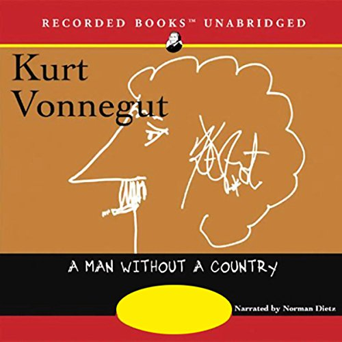 A Man Without a Country audiobook cover art