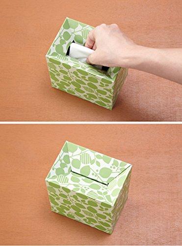 ワイズコーポレーション使い捨てエチケットボックス10個セット12.5×8.5×12.7cm(組立時)