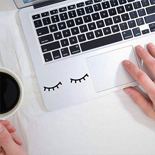 Eyelashes Decal Eyelashes Sticker for car Notebook Tablet Car Decal Window Decal Vinyl Decal Die Cut Decals Funny Laptop Stickers Bumper Stickers Present