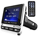 Tinzzi FM-Transmitter Bluetooth KFZ Wireless Radio Adapter, FM Transmitter Empfänger mit...
