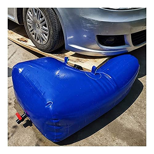 JTYX Recipiente de Agua con Grifo Tanque de Almacenamiento de Agua de Emergencia portátil 0.9 mm Bolsa de Agua de PVC con válvula de Agua Vejiga de Agua Plegable para riego agrícola