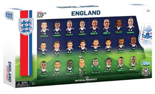 SoccerStarz Officiel Angleterre International 24 Figure Team Lot (V2)