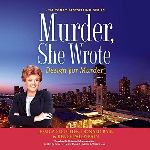 Murder, She Wrote: Design for Murder audiobook cover art