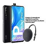 HUAWEI P Smart Pro Smartphone con Pantalla Ultra FullView FHD+ de 6.59' (6GB de RAM + 128GB de ROM, Triple Cámara IA de 48MP, 4000 mAh, Android 9) Color Negro + Altavoz CM51 Gris