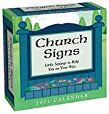 Church Signs 2021 Day-to-Day Calendar