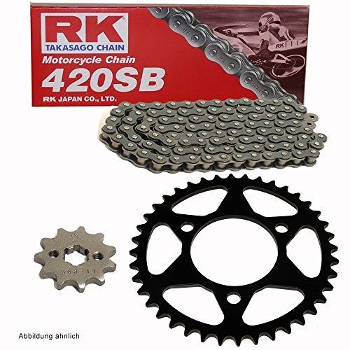 Kettensatz geeignet für MTX 80 C 82-84 Kette RK 420 120 offen 15/42