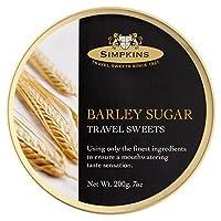 (Simpkins) 大麦、砂糖旅行お菓子の200グラム (x4) - Simpkins Barley Sugar Travel Sweets 200g (Pack of 4) [並行輸入品]