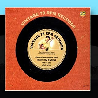 Vintage 78 RPM Records - Pandit Ravi Shankar
