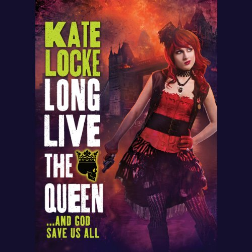 Long Live the Queen audiobook cover art