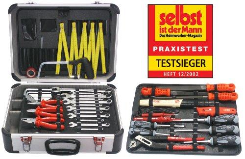 Famex Universal Werkzeugkoffer mit Qualitäts-Werkzeugbestückung
