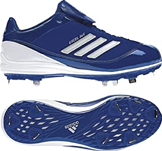 adidas New Abbott Pro Metal W Softball Cleat Womens 9 Royal/White