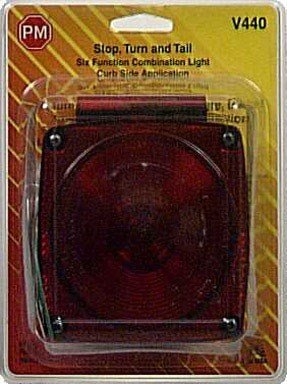 Peterson Stop & Tail Light Combination 6 Functions Visual Pack by Blazer International Trailer & Towing Accessories
