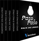 Pack de eBooks Paso a Paso (para descarga): Office 2016 Paso a Paso + Windows 10 Paso a Paso + Excel 2016 Paso a Paso + Word 2016 Paso a Paso + PowerPoint 2016 Paso a Paso