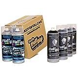 AutoFullCar Pack Sprays Full Dip Negro Extra Brillo