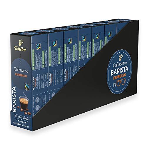 Tchibo Cafissimo Barista Espresso Kapseln, 80 Stück (8 x 10 Kapseln)
