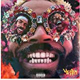 LIUXR Flatbush Zombies Vacation in Hell Hip Hop Rap Album Cover Poster e Stampe Wall Art Canvas Painting Home Decor -50x50cm No Frame