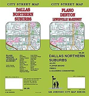 Denton / Plano / McKinney / Dallas North, Texas Street Map: GM ...