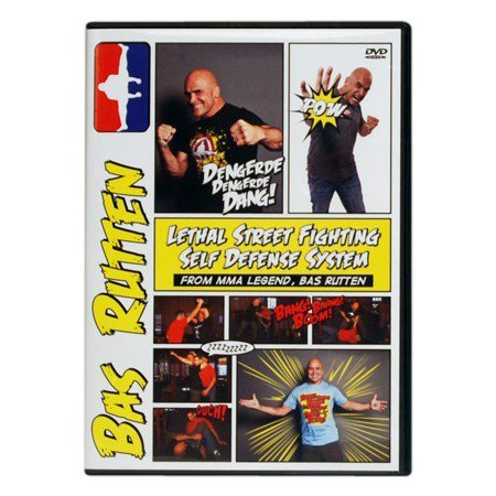 Bas Rutten Lethal Street Fighting Self Defense System Training DVD