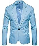 H&E -  Blazer - Uomo Blue M