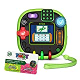 LeapFrog Rockit Twist Handheld Learning Game System, Green and 2-Game Pack: Cookie's Sweet Treats and Dinosaur Discoveries