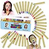 Kangaroo Face Paint Crayons 32 for Kids Face & Body Painting Makeup Crayons, Safe for Sensitive Skin (32 Count)