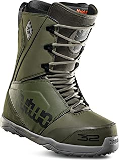 ThirtyTwo Lashed '18 Snowboard Boots, Olive, 7